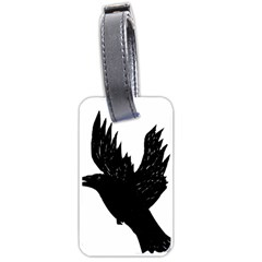 Crow Luggage Tags (one Side)