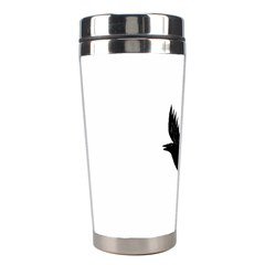 Crow Stainless Steel Travel Tumblers by JDDesigns
