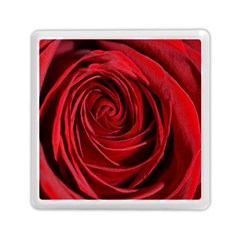 Beautifully Red Memory Card Reader (Square)  by timelessartoncanvas