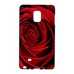 Beautifully Red Galaxy Note Edge by timelessartoncanvas