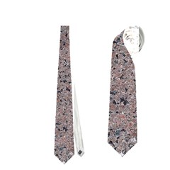 Granite Red Grey Neckties (one Side)  by trendistuff