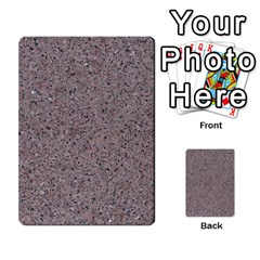 Granite Red Grey Multi Purpose Cards (rectangle)  by trendistuff