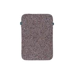 Granite Red Grey Apple Ipad Mini Protective Soft Cases by trendistuff