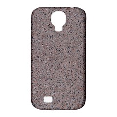 Granite Red Grey Samsung Galaxy S4 Classic Hardshell Case (pc+silicone) by trendistuff