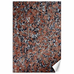 Granite Red Black Canvas 20  X 30   by trendistuff