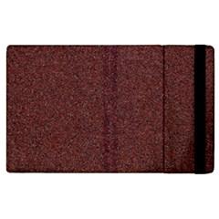Granite Red 1 Apple Ipad 2 Flip Case by trendistuff