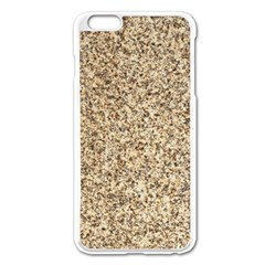 Granite Brown 3 Apple Iphone 6 Plus/6s Plus Enamel White Case by trendistuff