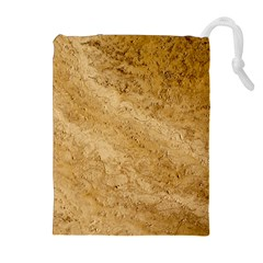Granite Brown 2 Drawstring Pouches (extra Large)