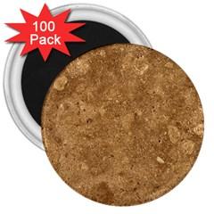Granite Brown 1 3  Magnets (100 Pack) by trendistuff