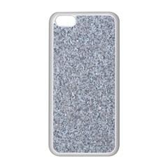 Granite Blue Grey Apple Iphone 5c Seamless Case (white) by trendistuff