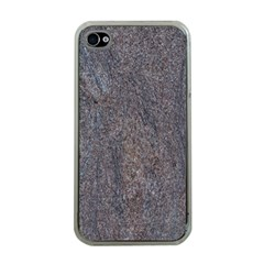 Granite Blue Brown Apple Iphone 4 Case (clear) by trendistuff