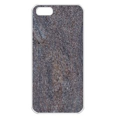 Granite Blue Brown Apple Iphone 5 Seamless Case (white) by trendistuff