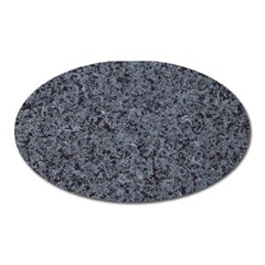Granite Blue Black 3 Oval Magnet by trendistuff