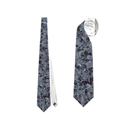Granite Blue Black 3 Neckties (one Side)  by trendistuff
