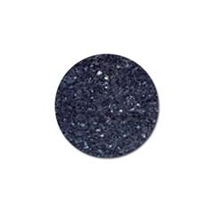 Granite Blue Black 1 Golf Ball Marker (4 Pack) by trendistuff