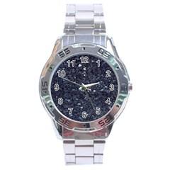 Granite Blue Black 1 Stainless Steel Men s Watch by trendistuff