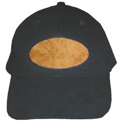 Faux Stone Black Cap by trendistuff