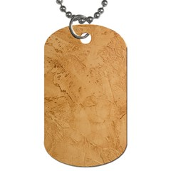 Faux Stone Dog Tag (one Side) by trendistuff
