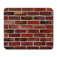 Colorful Brick Wall Large Mousepads by trendistuff