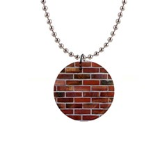 Colorful Brick Wall Button Necklaces
