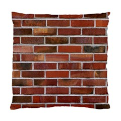 Colorful Brick Wall Standard Cushion Case (one Side)  by trendistuff