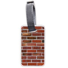 Colorful Brick Wall Luggage Tags (one Side)  by trendistuff