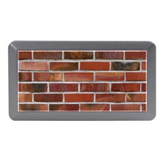 Colorful Brick Wall Memory Card Reader (mini) by trendistuff