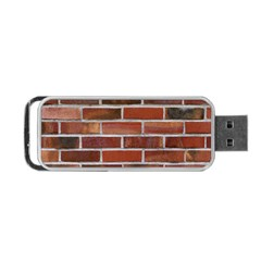 Colorful Brick Wall Portable Usb Flash (two Sides)