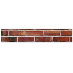 Colorful Brick Wall Flano Scarf (large)  by trendistuff