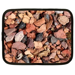 COLORED ROCKS Netbook Case (XL)