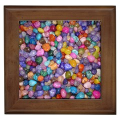Colored Pebbles Framed Tiles by trendistuff