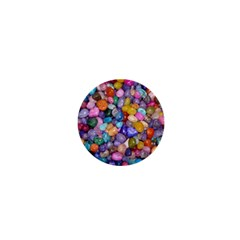 Colored Pebbles 1  Mini Magnets by trendistuff