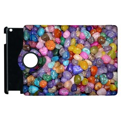 Colored Pebbles Apple Ipad 3/4 Flip 360 Case by trendistuff