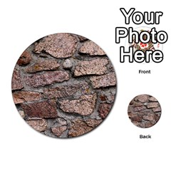 Cemented Rocks Multi Purpose Cards (round)