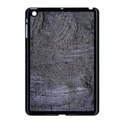 BLUE STUCCO TEXTURE Apple iPad Mini Case (Black) by trendistuff