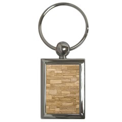 Block Wall 2 Key Chains (rectangle)  by trendistuff