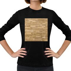 Block Wall 2 Women s Long Sleeve Dark T Shirts by trendistuff