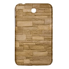 Block Wall 2 Samsung Galaxy Tab 3 (7 ) P3200 Hardshell Case  by trendistuff