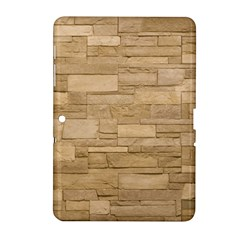 Block Wall 2 Samsung Galaxy Tab 2 (10 1 ) P5100 Hardshell Case  by trendistuff