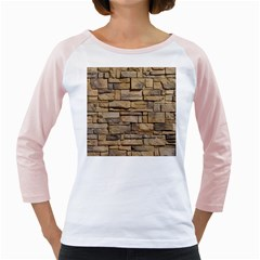 Block Wall 1 Girly Raglans by trendistuff