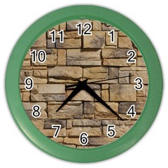 BLOCK WALL 1 Color Wall Clocks by trendistuff