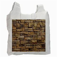 Block Wall 1 Recycle Bag (one Side) by trendistuff