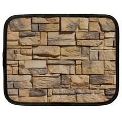 Block Wall 1 Netbook Case (xxl)  by trendistuff