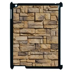 Block Wall 1 Apple Ipad 2 Case (black) by trendistuff