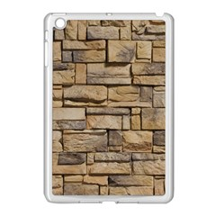 Block Wall 1 Apple Ipad Mini Case (white) by trendistuff