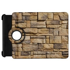 Block Wall 1 Kindle Fire Hd Flip 360 Case by trendistuff