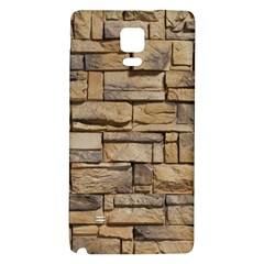BLOCK WALL 1 Galaxy Note 4 Back Case