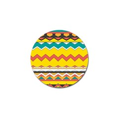Zig Zag Golf Ball Marker (10 Pack) by LalyLauraFLM