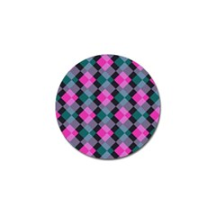 Argyle Variation Golf Ball Marker by LalyLauraFLM