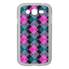 Argyle Variation Samsung Galaxy Grand Duos I9082 Case (white) by LalyLauraFLM